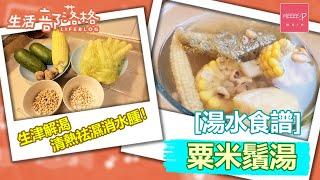 [湯水食譜]粟米鬚湯 生津解渴 清熱祛濕消水腫!