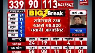 Lok Sabha Results LIVE | अमोल कोल्हे, सुप्रिया सुळे, उदयनराजे भोसले, रक्षा खडसे आघाडीवर-TV9