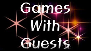 2018-9-21 Games With Guests Flip Cup