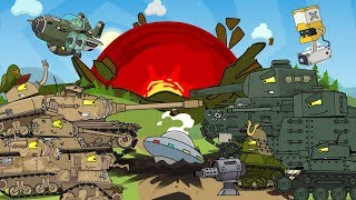The second season - Opposition between the USA and Japan / Cartoons about tanks
