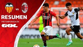 RESUMEN - VALENCIA CF 0 (5-3) 0 AC MILAN