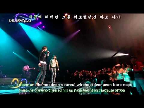 Davichi - Warning / Caution LIVE [engsub+kara]