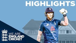 Brilliant Stokes & Roy Guide England to Series Win | England v Pakistan 4th ODI 2019 - Highlights - YouTube