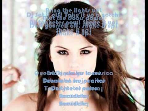 Selena Gomez - Shake it up - Lyrics/Letra - English/Español