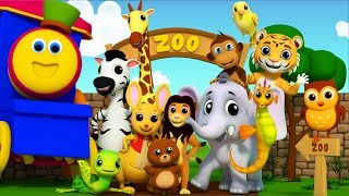 Animal Sound | Learning Street With Bob The Train | Cartoon Videos And Songs by Kids Tv