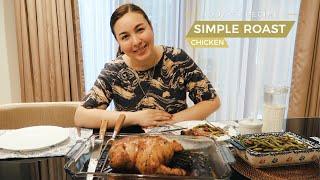 MY SIMPLE ROAST CHICKEN RECIPE | Marjorie Barretto