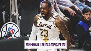 Mini-Movie: Lakers Take Down Clippers