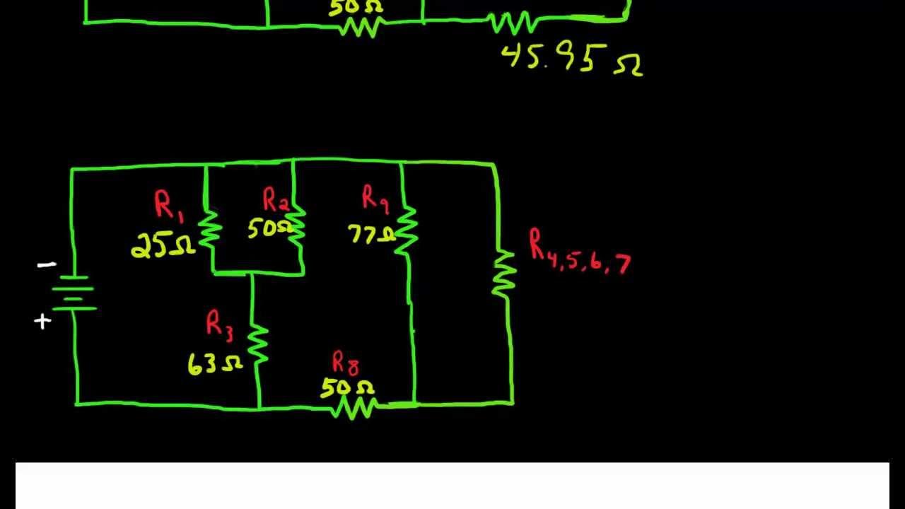 Combination Circuit Simplification - YouTube