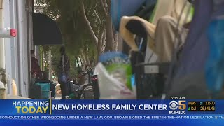 Center For Homeless Families To Open In San Francisco