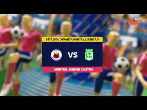 Deportivo Pasto vs Atletico Nacional Medellin