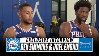 Ben Simmons and Joel Embiid Sit Down With Shams Charania at 76ers Media Day | Stadium