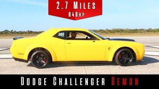 2018 Dodge Challenger SRT Demon (Top Speed) NEW WORLD RECORD