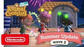 Animal Crossing: New Horizons Summer Update - Wave 2 - Nintendo Switch