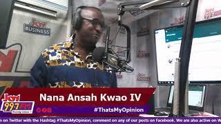 #ThatsMyOpinion on Joy FM (20-5-19)