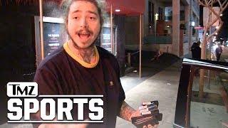 Post Malone Says He 'Partied & Got Weird' with Ezekiel Elliott | TMZ Sports