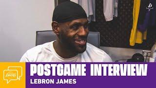 Lakers Postgame: LeBron James (11/19/19)