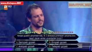 Kim Milyoner Olmak Ister 270. bölüm Bülent Kan 09.10.2013