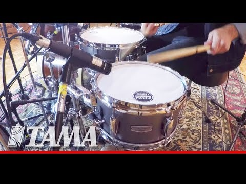 "Tama Drums Tama Soundworks 10"" x 5.5"" Steel Piccolo Snare Drum"