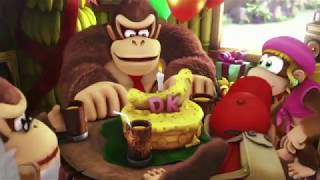 8 minutes of Donkey Kong Country: Tropical Freeze Switch footage