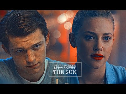 peter parker + betty cooper | the sun (AU)