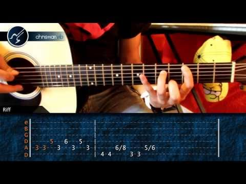 Como tocar Sweet Dreams MARILYN MANSON en Guitarra Acustica (HD) Tutorial