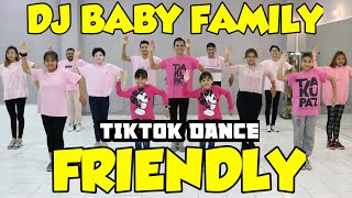DJ BABY FAMILY FRIENDLY | BILA DIA MENYUKAIKU | TIKTOK DANCE VIRAL | ZUMBA SENAM JOGET GOYANG
