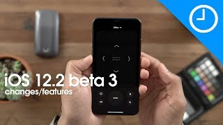 iOS 12.2 beta 3 Changes and Features!