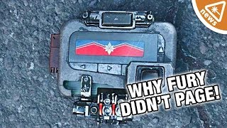 Why Fury Didn't Page Captain Marvel until Infinity War! (Nerdist News w/ Amy Vorpahl)
