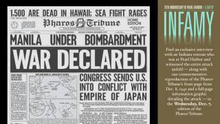 75th anniversary of Pearl Harbor: A Day of Infamy