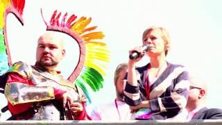 Agnieszka Stupkiewicz-Turek na Paradzie Równości 2014