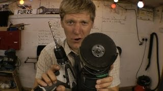 Build a JET ENGINE using only a DRILL, GRINDER and duck tape (NO WELDING)