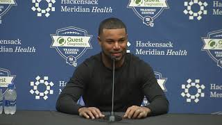 WR Golden Tate Introductory Press Conference