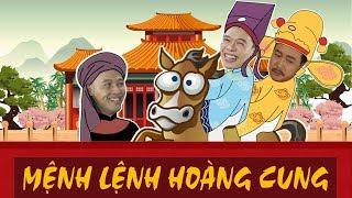 Phim ca nhạc MỆNH LỆNH HOÀNG CUNG | Trung Ruồi | Phim hài 2019