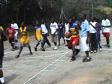 Africa Outreach USA Foundation - 2012 Mutare Camp - Jump Shot Drill.MPGric