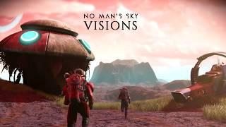 No Man's Sky - Visions Frissítés