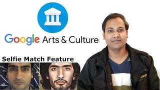 Google arts and culture face match app