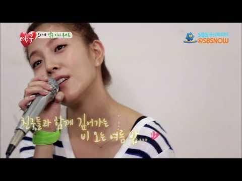 SBS [땡큐] - 보아의 빗속 미니콘서트