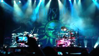 Godsmack - Drumming Duet Performance at Usana Uproar Festival Salt Lake City, UT 2012