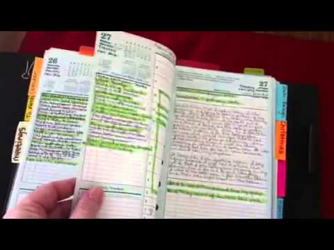 Franklin Covey Classic Planner - YouTube