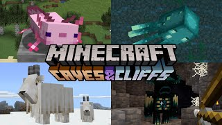 4 New Mobs Added to Minecraft 1.17- Caves and Cliffs Update