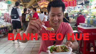 Banh Beo Hue Cho Ben Thanh Saigon Vietnam 2016