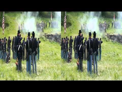 Civil War Battle Reenactment, Deep Creek, Medical Lake, Spokane, WA 3D 2012 by coldstreams.com