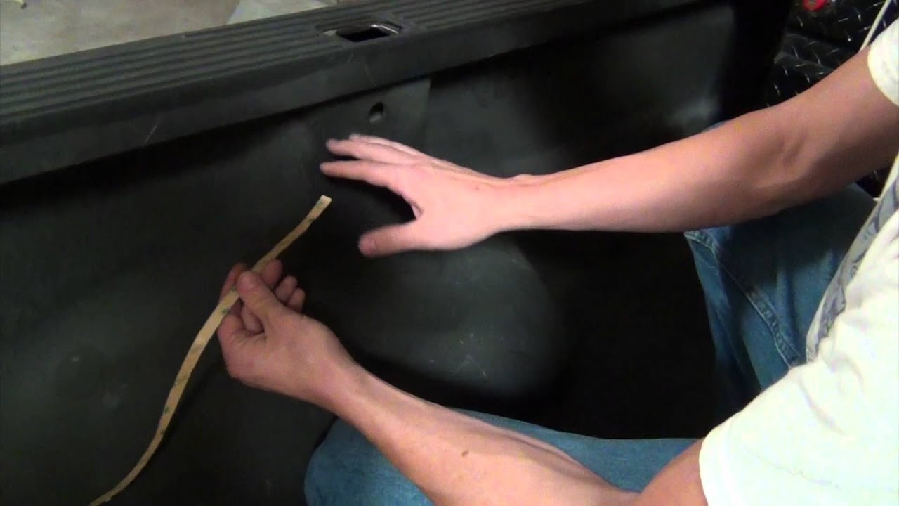 Truck Bed Led Flex Ribbon Installation Youtube