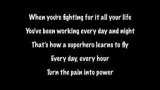 The Script - Superheroes (Lyrics)