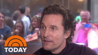 Matthew McConaughey Talks About 'White Boy Rick' And Being A Dad | TODAY