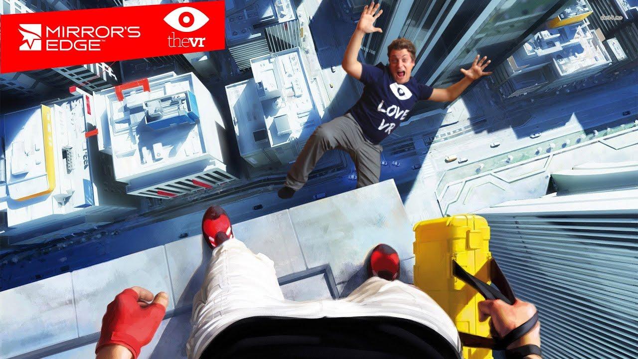 Mirror's Edge Oculus Rift magyar Gameplay   thevr - YouTube