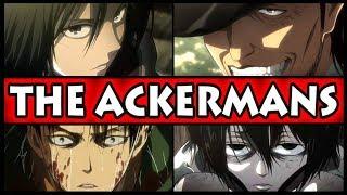 Every Ackerman Explained! (Attack on Titan / Shingeki no Kyojin All Ackerman Family Members / S3)