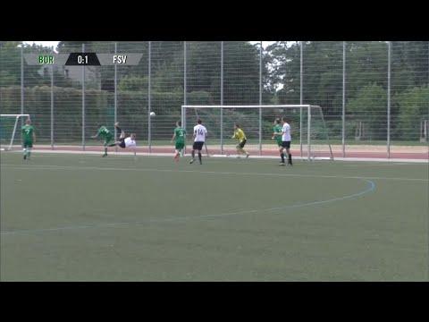 Borussia Pankow - Friedrichshagener SV (Qualifikationsrunde, Berliner Pokal der 1. Herren 2016/2017) - Spielszenen | SPREEKICK.TV