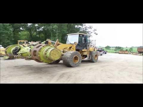 2006 Caterpillar 950H wheel loader for sale | no-reserve Internet auction September 15, 2016