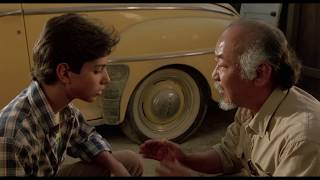 The Karate Kid | PART I | Wax On, Wax Off [ First Session ]